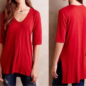 Anthro Left is Center Dimanche Tunic Top